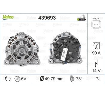 Alternateur VALEO 439693